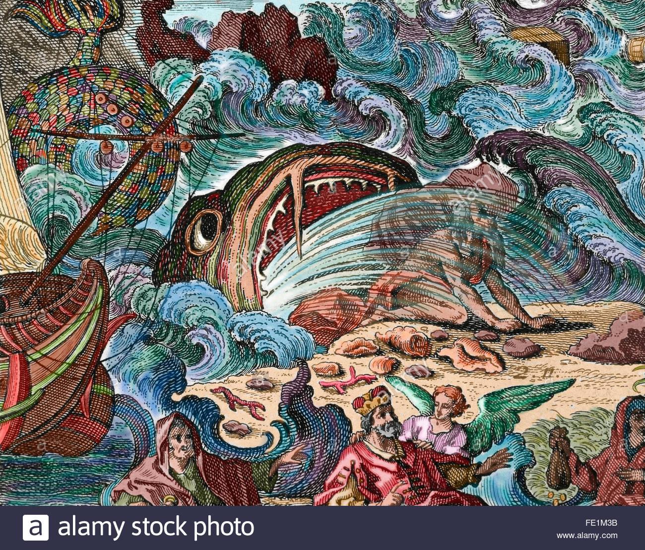 jonas-vomi-par-le-grand-poisson-sur-la-rive-livre-de-jonas-chapitre-2-la-gravure-de-couleur-fe1m3b.jpg